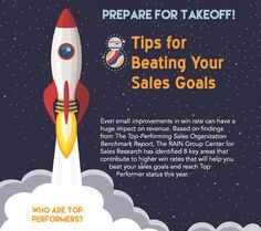 Infographic 8 Tips for Beating Your Sales Goals