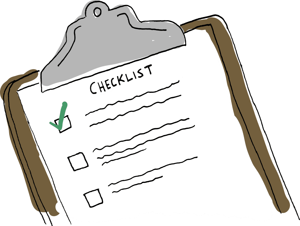 SALES MANAGEMENT CHECKLIST