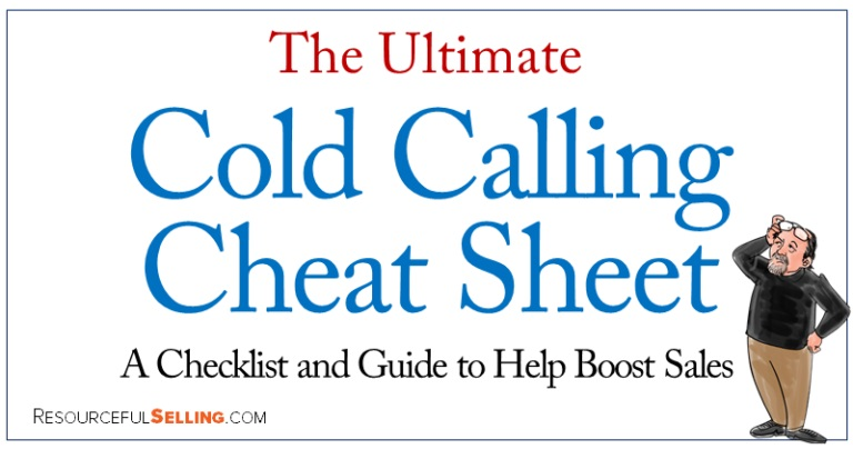 Ultimate cold calling cheat sheet A checklist that'll boost sales