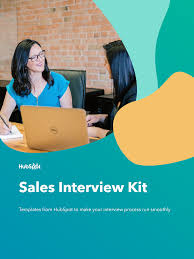 Welcome to Sales Interview Kit