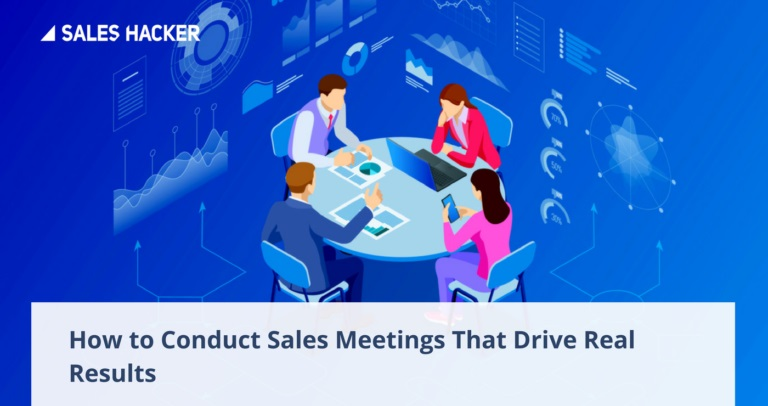 5 Secrets to Running More Productive Weekly Sales Meetings