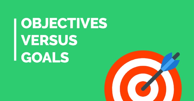 Marketing objectives objectives vs goals