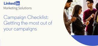 LinkedIn Campaign Checklist